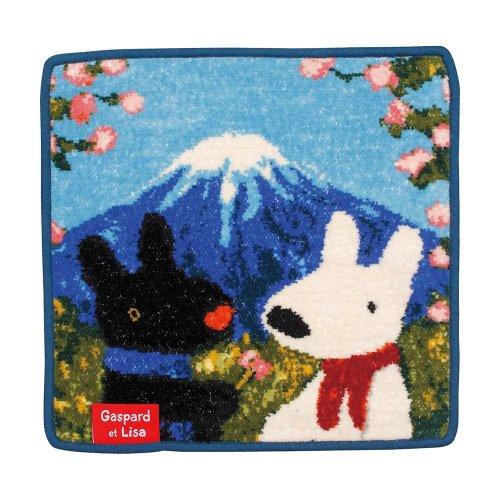 【生産終了品】リサとガスパール ミニタオル(富士山にて) 0454103500