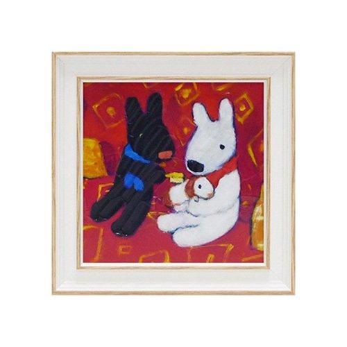 リサとガスパール アートフレームS「ちいさなともだち」 GL-02003