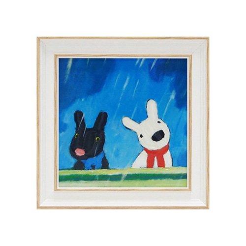 リサとガスパール アートフレームS「たいくつないちにち」 GL-02007