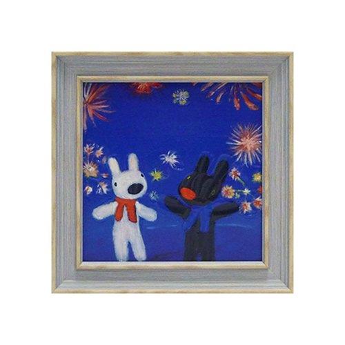 リサとガスパール アートフレームS「花火」 GL-02009