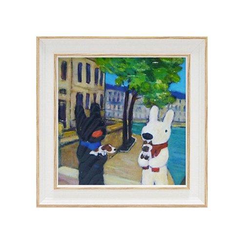 リサとガスパール アートフレームS「いぬとねこ」 GL-02014