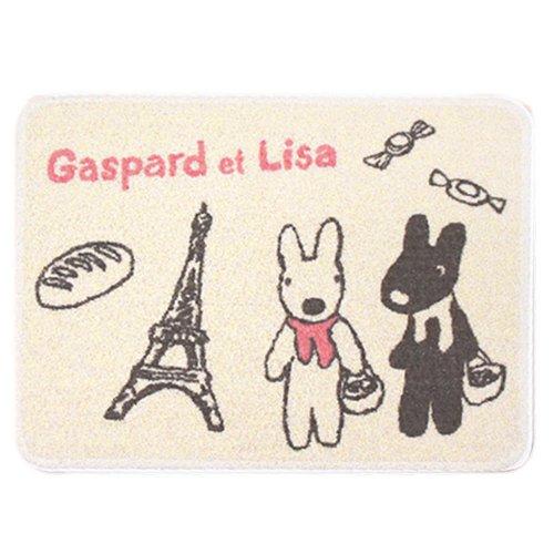 リサとガスパール 洗面マット(バケット)