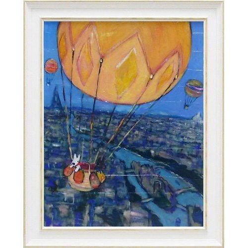 リサとガスパール アートフレームL「気球」 GL-10003