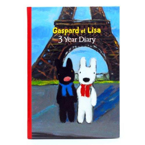 リサとガスパール 3年日記