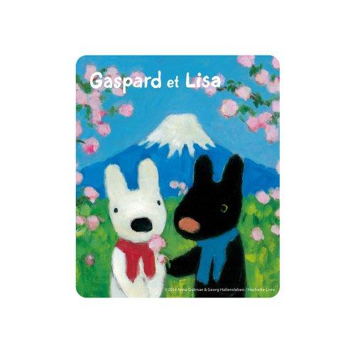 リサとガスパール マウスパッド(富士山)
