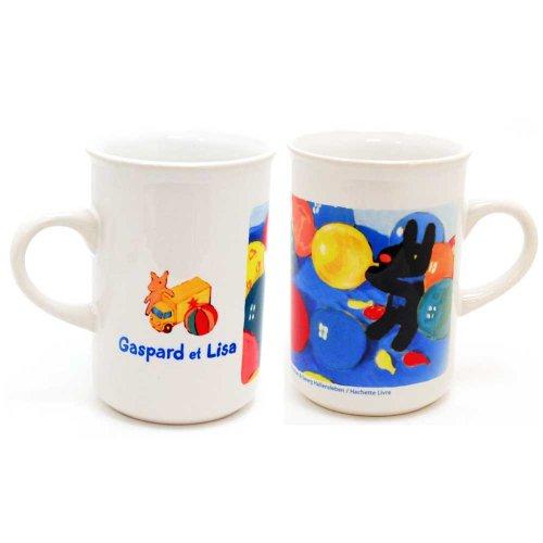 リサとガスパール マグカップ スリムタイプ(バルーン)