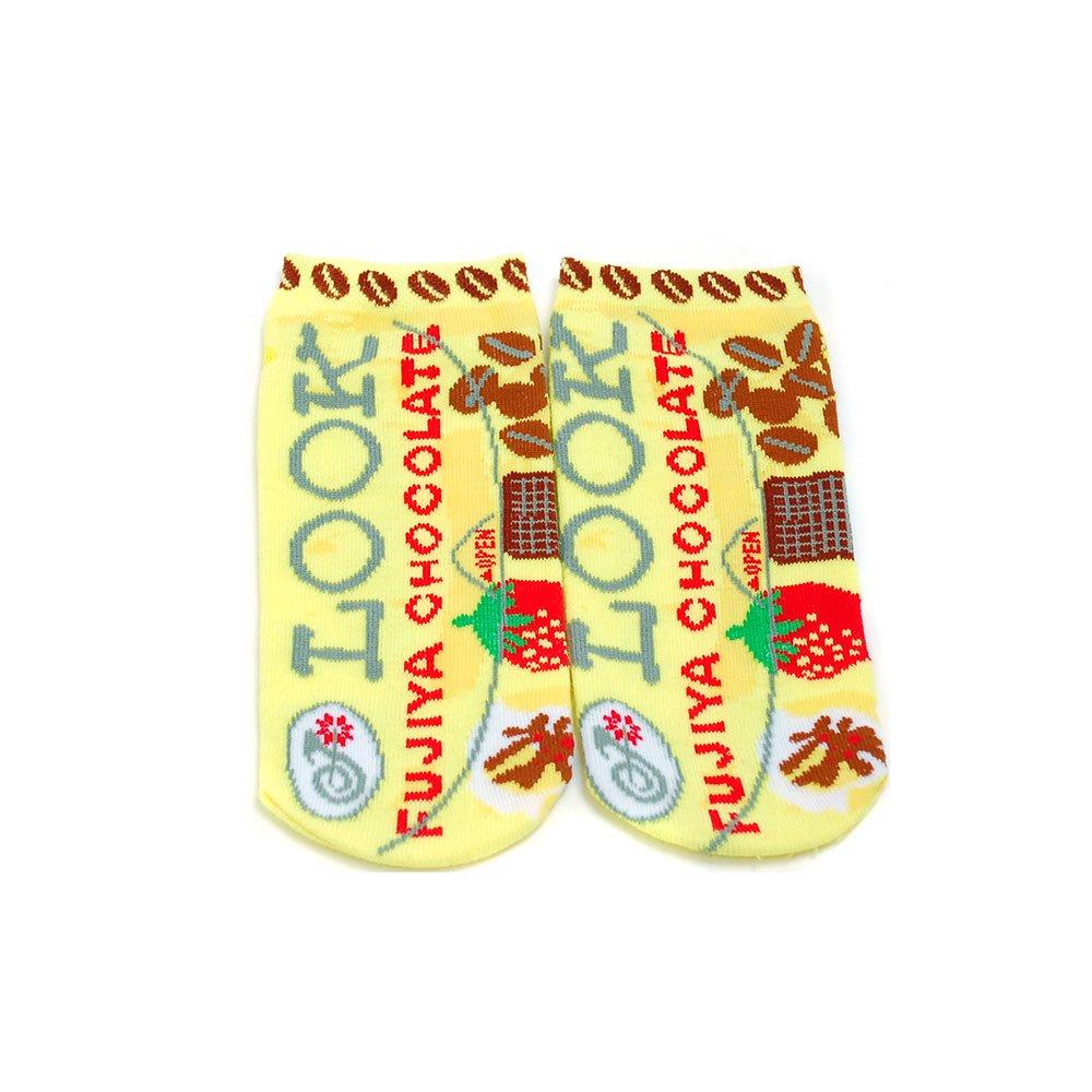 キャラコ ルック チョコレート お菓子ソックス(不二家お菓子雑貨) JGS0023 PK
