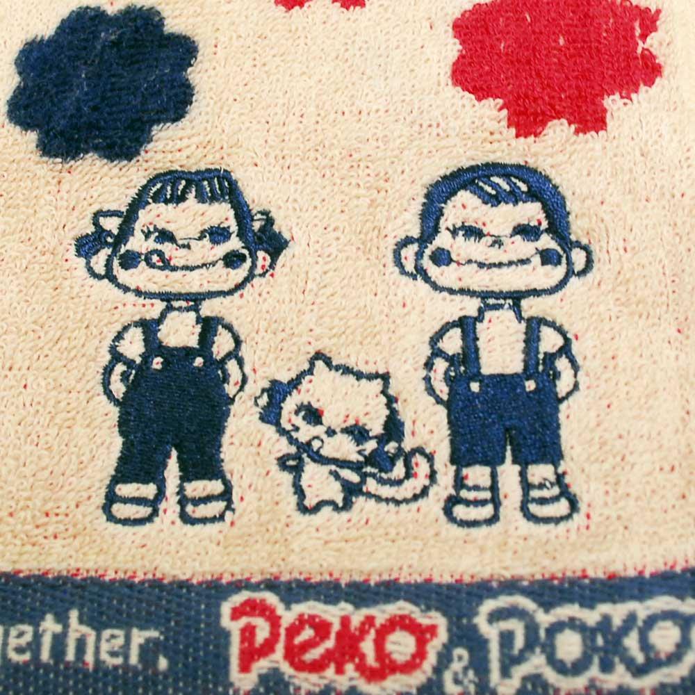 キャラコ ペコちゃん ミニタオル(ミルキーフレンズ) SNK049A (不二家お菓子雑貨) PK