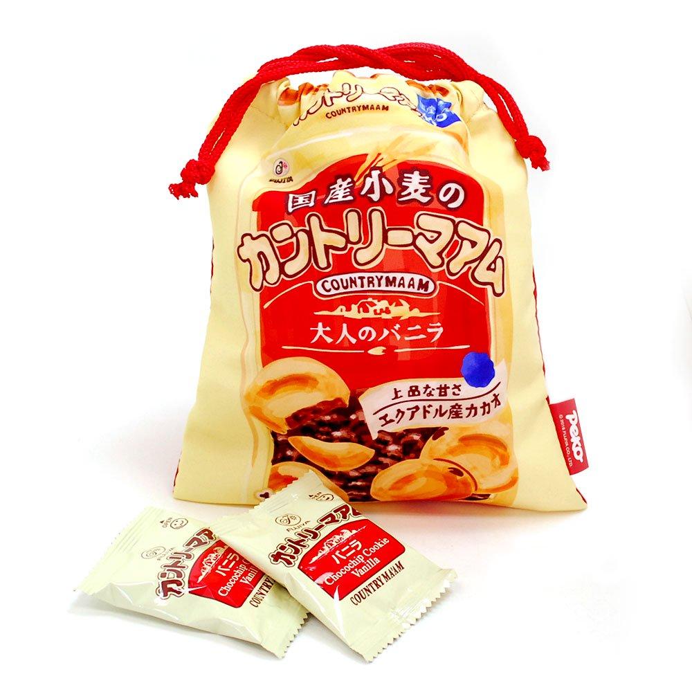キャラコ 【生産終了品】カントリーマアム 巾着M(不二家お菓子雑貨) 026583 PK