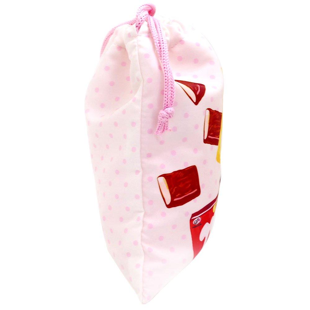 キャラコ 【生産終了品】ペコちゃん お菓子アソート 巾着M(不二家お菓子雑貨) 026590 PK