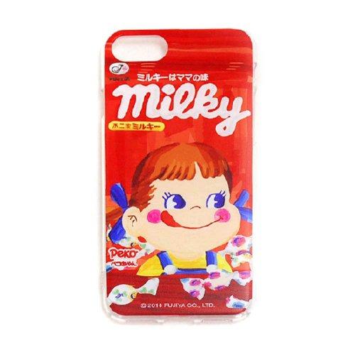 ペコちゃん ミルキー iPhoneケース(不二家お菓子雑貨)PK