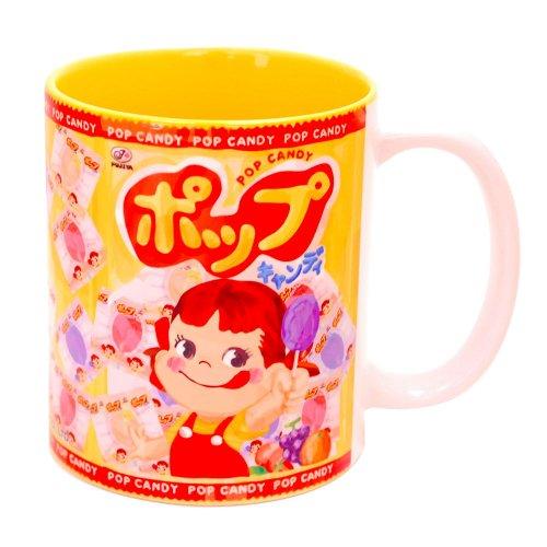 ペコちゃん POP CANDY PEKO マグ(不二家お菓子雑貨) YT-015 PK