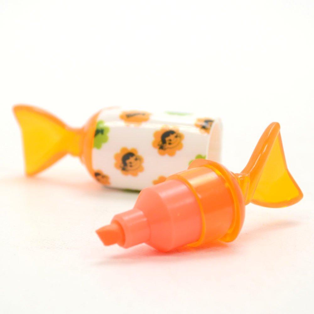 キャラコ ペコちゃん キャンディーマーカー(オレンジ) PE-5523266OR (不二家お菓子雑貨) PK