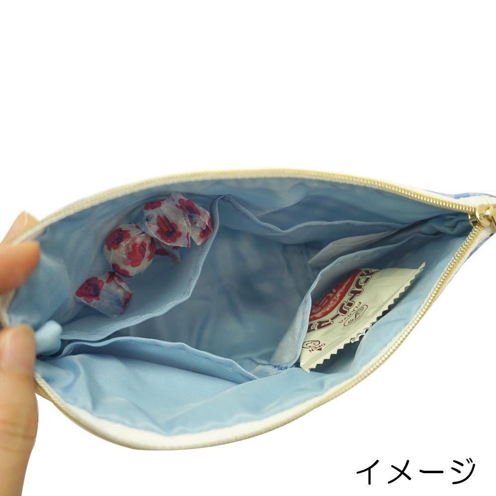 キャラコ ペコちゃん ポーチ(チェック) PE-0521 (不二家お菓子雑貨) PK