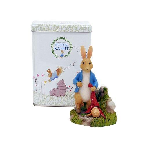【生産終了品】ピーターラビット Enesco BP ミニフィギュア(Peter Rabbit in Garden) A28482