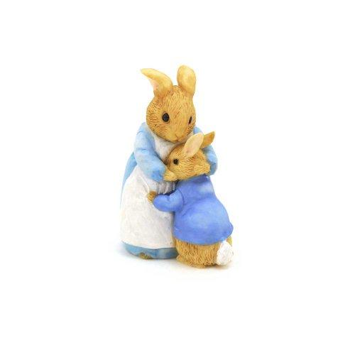 ピーターラビット Enesco BP ミニフィギュア(Mrs.Rabbit&Peter) A26909