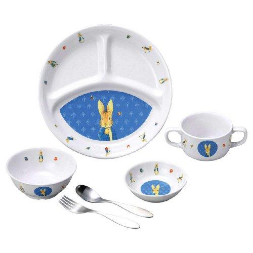 ピーターラビット 食器&スプーンフォークセット(クラシック) SET-0051