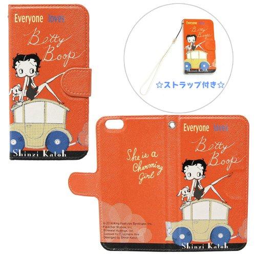 ベティーブープ iPhone6 フリップケース IPBT20203
