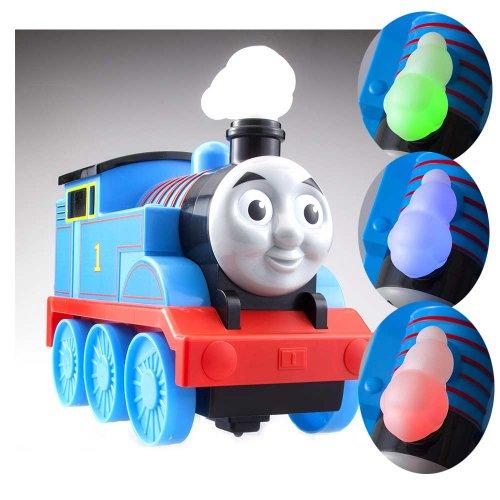 きかんしゃトーマス ☆けむりが6色にチェンジ☆ ボタンで学んで!おりこうトーマス