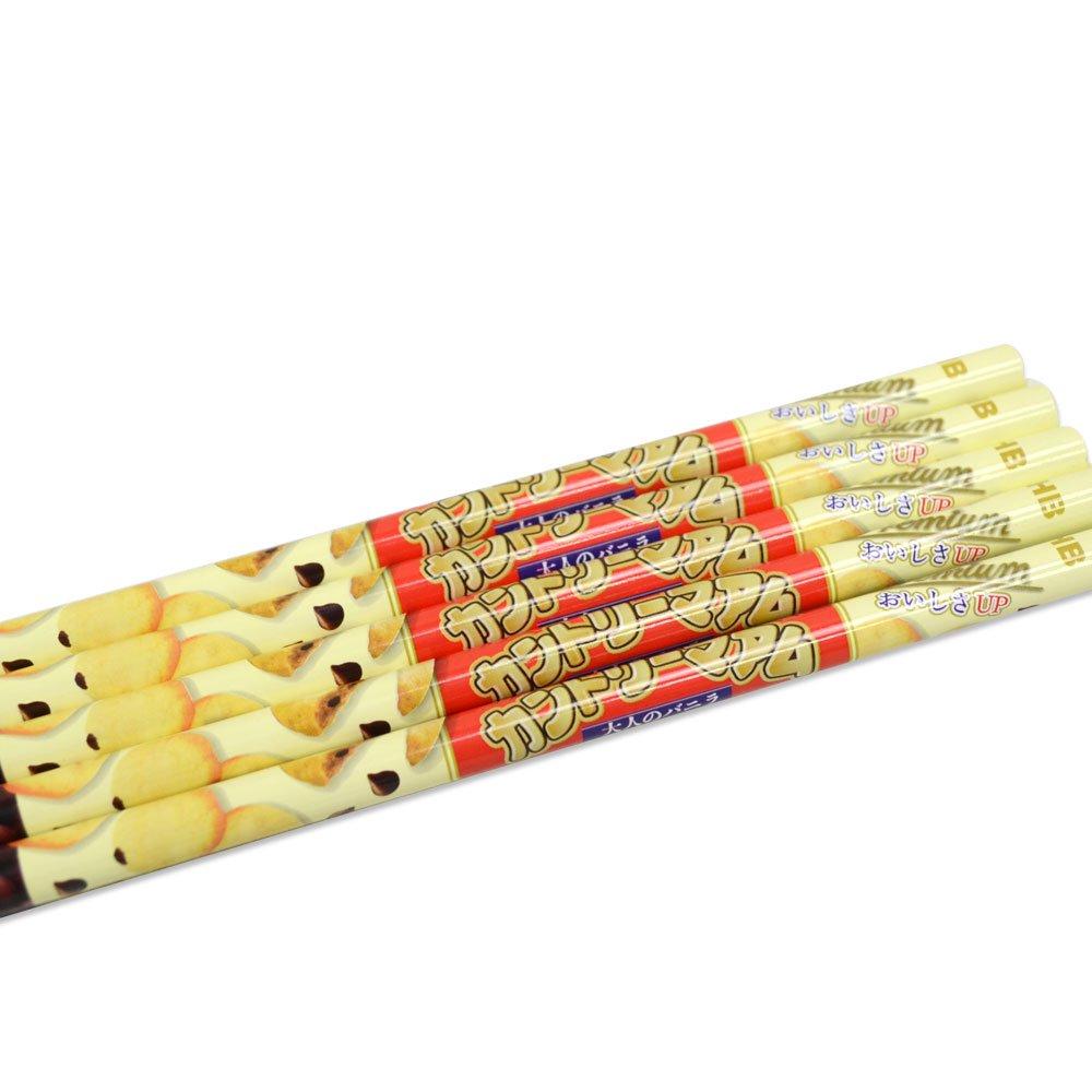 キャラコ おやつ鉛筆HB 5本セット(カントリーマアム) 44800101 PK