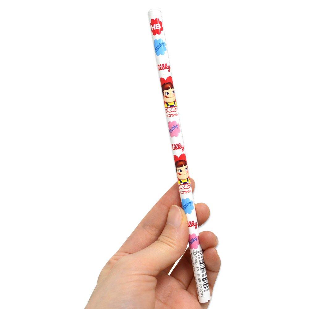 キャラコ おやつ鉛筆HB 5本セット(ミルキーホワイト) 44800301 PK