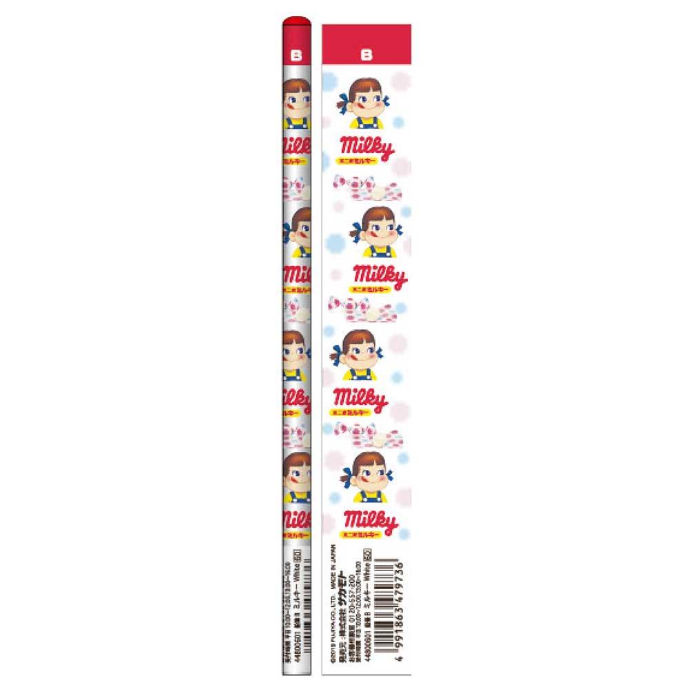 おやつ鉛筆B 5本セット(ミルキーホワイト) 44800601 PK