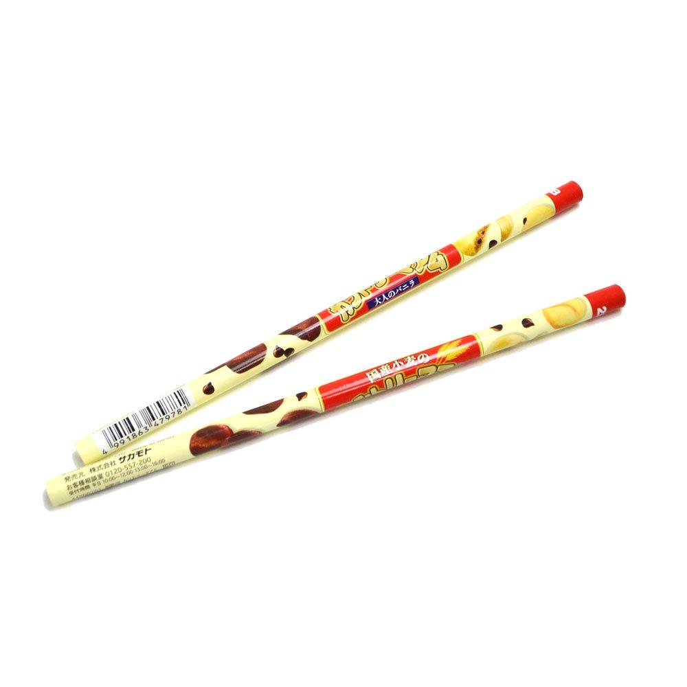 キャラコ おやつ鉛筆2B 5本セット(カントリーマアム) 44800701 PK