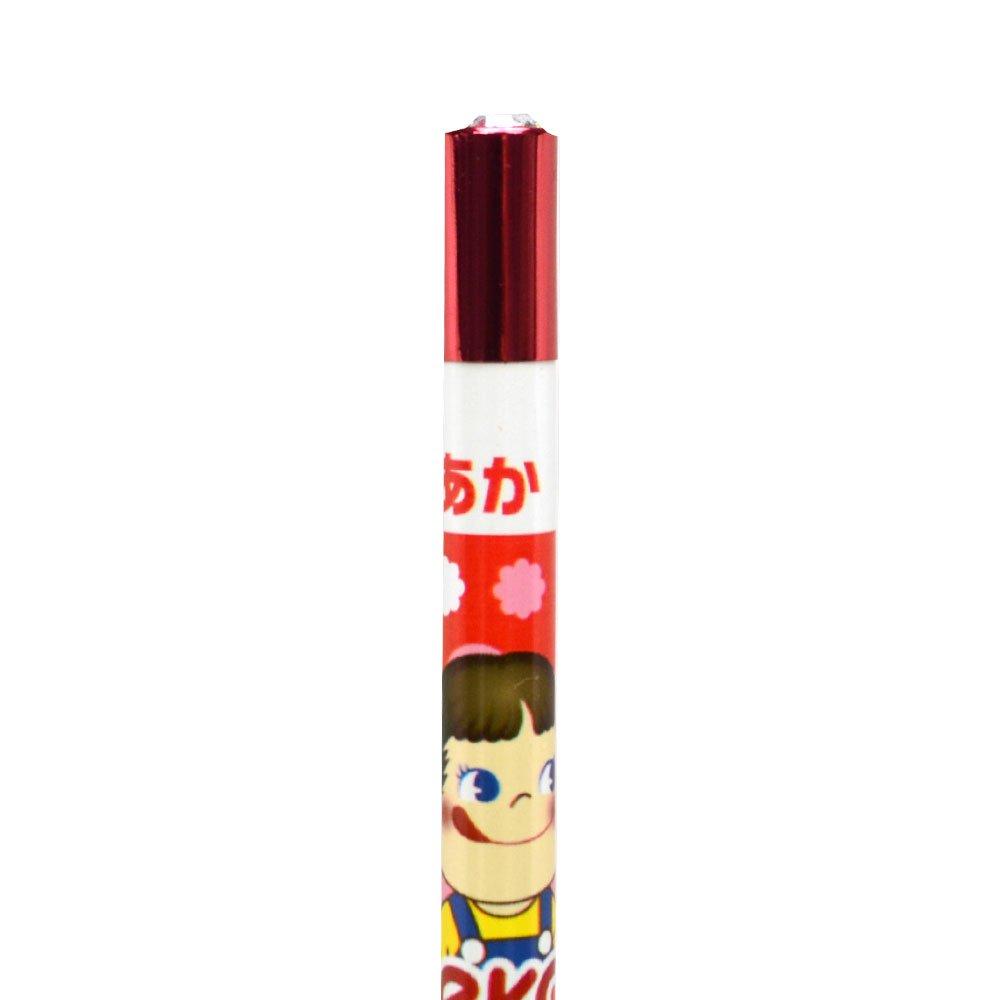 キャラコ 【生産終了品】ジュエリー鉛筆 5本セット(いちご/アップ) PE-5523610UP PK