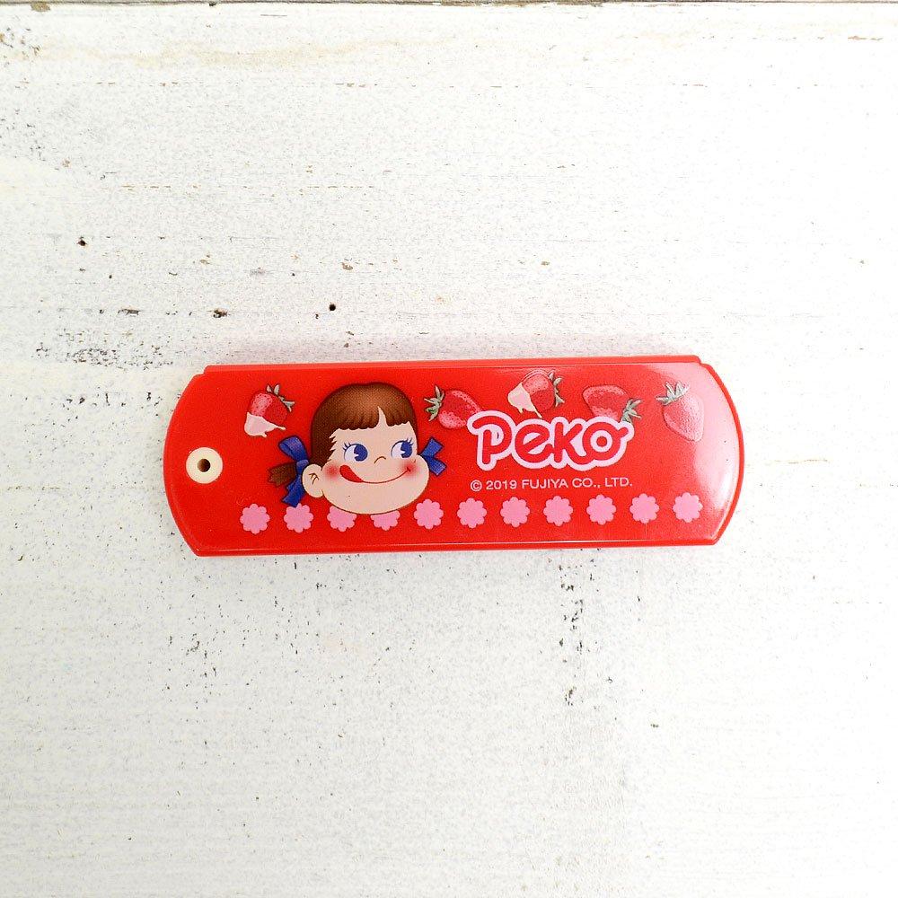 キャラコ ミラー&コーム(いちごレッド) PE-5537094RD PK