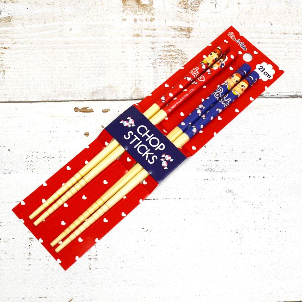キャラコ 竹箸2Pセット PE-5535419PP PK