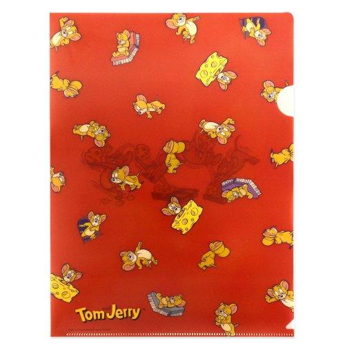 トムとジェリー A4ファイル(RED) D02720
