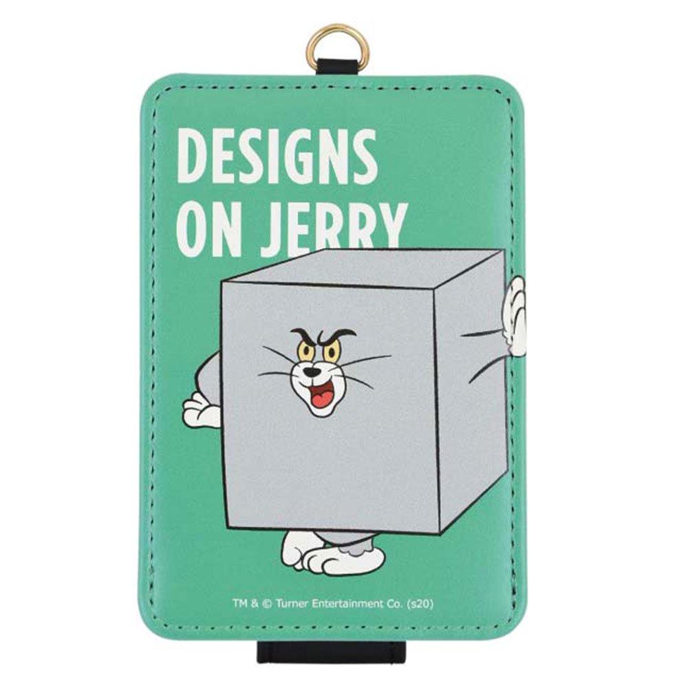 キャラコ トムとジェリー 【FUNNY ART series】 ICカードケース(グリーン)TMJ-70GR