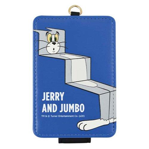 トムとジェリー 【FUNNY ART series】 ICカードケース(ブルー)TMJ-70BL