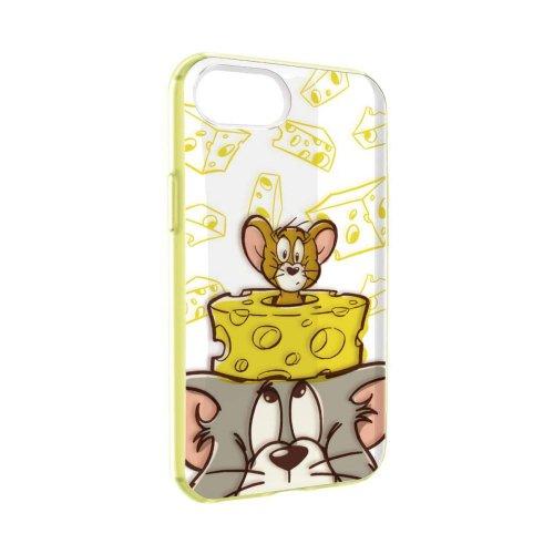 トムとジェリー IIIIfit Clear iPhone4.7inch 8/7/6s/6対応ケース(チーズ)TMJ-64A
