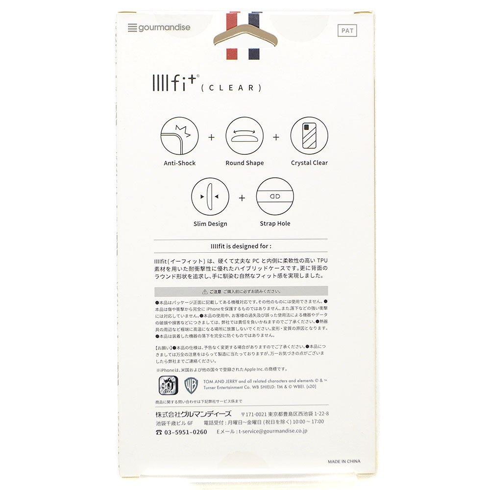 キャラコ トムとジェリー IIIIfit Clear iPhone4.7inch 8/7/6s/6対応ケース(ジェリー)TMJ-64B
