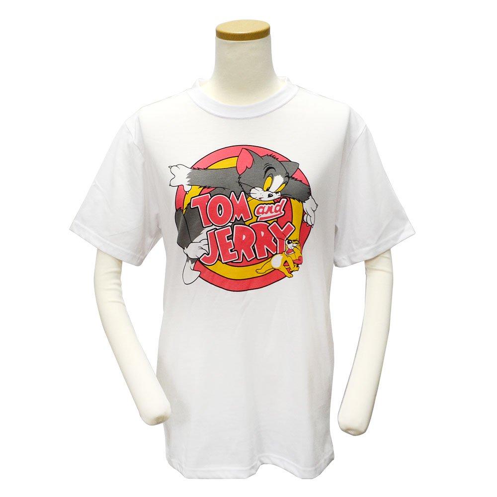 キャラコ トムとジェリー Tシャツ(サークル)L WBJR1007