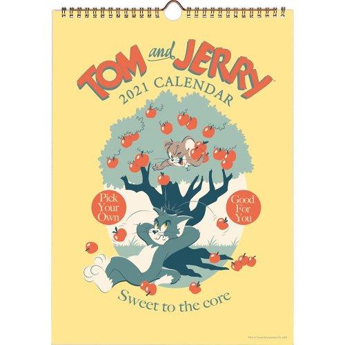トムとジェリー 2021年 ウォールカレンダー AM150-20