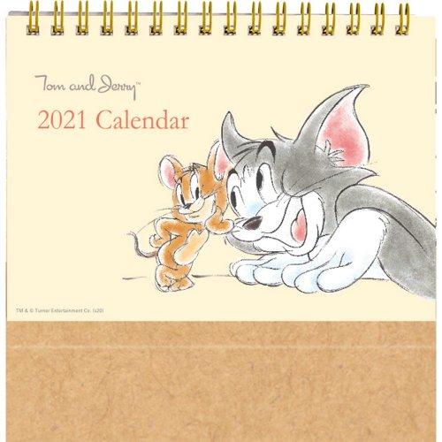 トムとジェリー 2021年 卓上カレンダー DM100-88