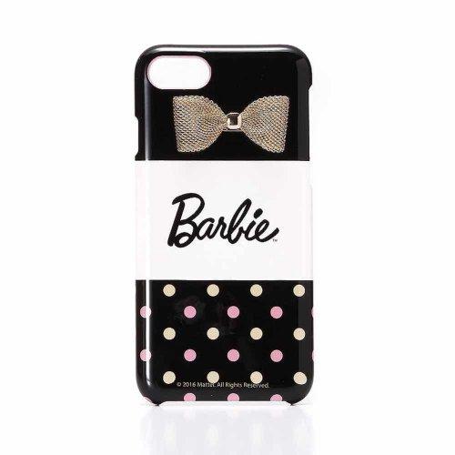 <img class='new_mark_img1' src='https://img.shop-pro.jp/img/new/icons33.gif' style='border:none;display:inline;margin:0px;padding:0px;width:auto;' />【生産終了品】Barbie  iPhone7/8対応 リボンプリントハードケース(ドット)LP-BI7HSRB