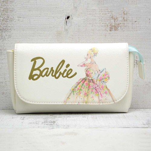 <img class='new_mark_img1' src='https://img.shop-pro.jp/img/new/icons11.gif' style='border:none;display:inline;margin:0px;padding:0px;width:auto;' />【生産終了品】Barbie コスメポーチ(ブルー)BA19015