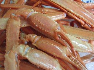 名人の「浜茹で蟹ボイルポーション2.5kg」足のみ/冷凍品