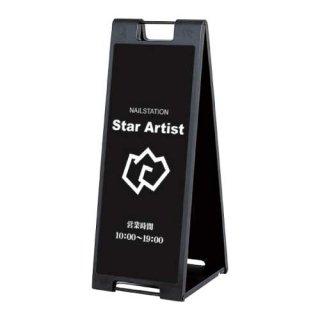 メッセージプレート(黒) W330xH887xD380