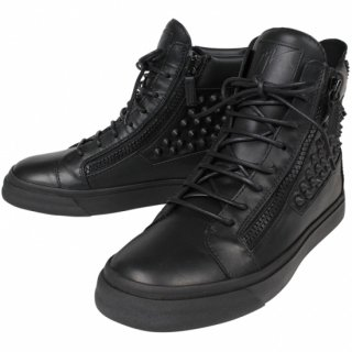 <img class='new_mark_img1' src='https://img.shop-pro.jp/img/new/icons20.gif' style='border:none;display:inline;margin:0px;padding:0px;width:auto;' />GIUSEPPE ZANOTTI<br>STUDDED DOUBLE ZIP HIGH TOP<br>【73%OFF】