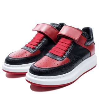 <img class='new_mark_img1' src='https://img.shop-pro.jp/img/new/icons20.gif' style='border:none;display:inline;margin:0px;padding:0px;width:auto;' />ALEXANDER McQUEEN<br>HIGH TOP OVERSIZED SNEAKER<br>【76%OFF】