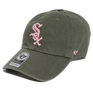 '47<br>6PANEL CAP<br>CLEAN UP MOSS