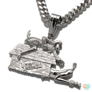 DEATH ROW RECORDS × AVALANCHE<br>DOGGY STYLE SILVER 3D PENDANT HEAD