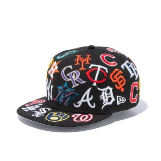 NEW ERA 9FIFTY<br>TEAM LOGO ALL OVER<br>