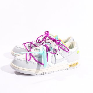 OFF-WHITE×NIKE<br>DUNK LOW 1 OF 50 LOT 21<br>DM1602 100