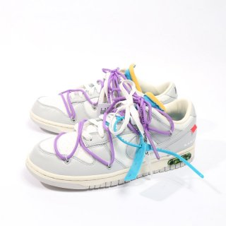 OFF-WHITE×NIKE<br>DUNK LOW 1 OF 50 LOT 47<br>DM1602 125