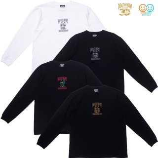 "DEATH ROW RECORDS<br>30th Anniversary Collection<br>""EMBROIDERY LONG SLEEVE T-SHIRTS"""